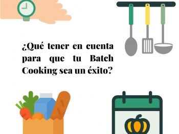 como preparar batch cooking