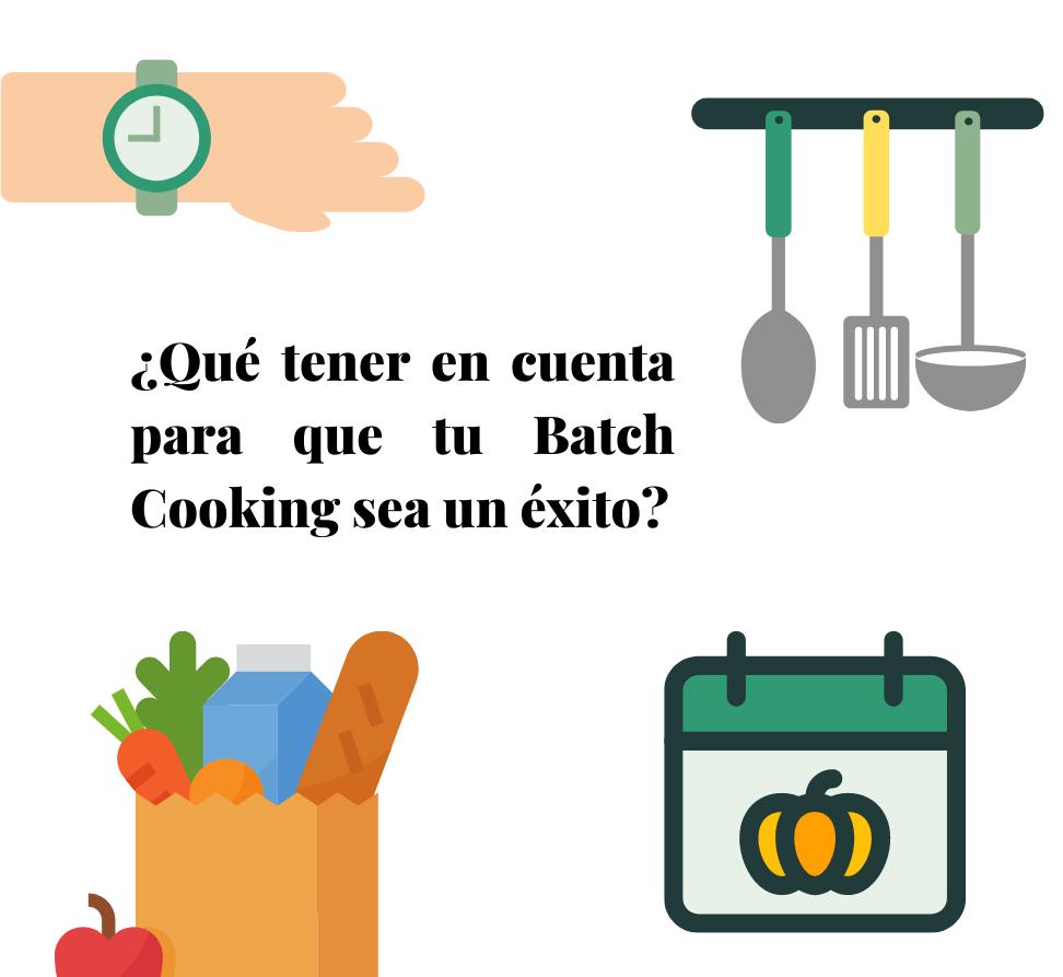 prepara tu batch cooking o tu comida semanal en un día