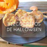 Receta de bizcochitos de Halloween