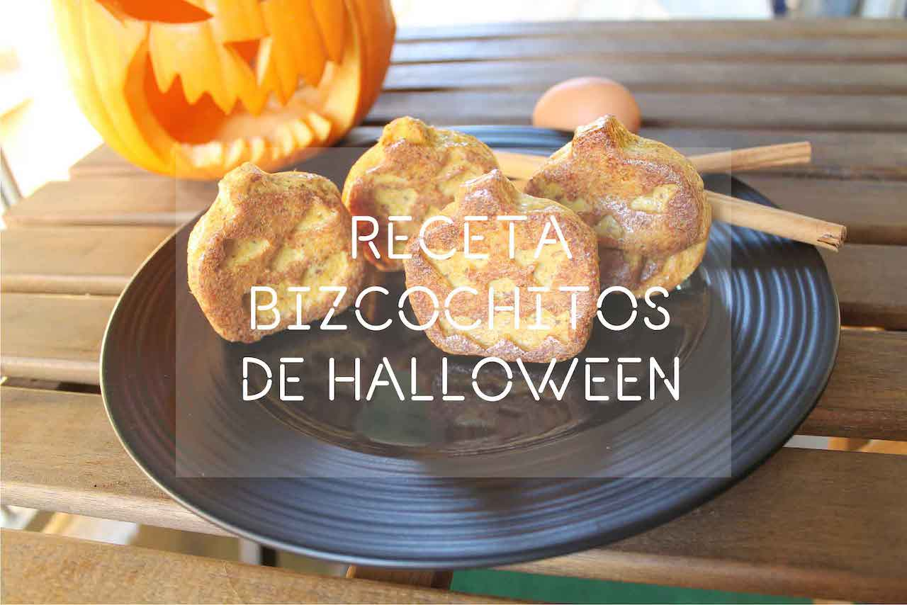 Receta de bizcochitos de Halloween